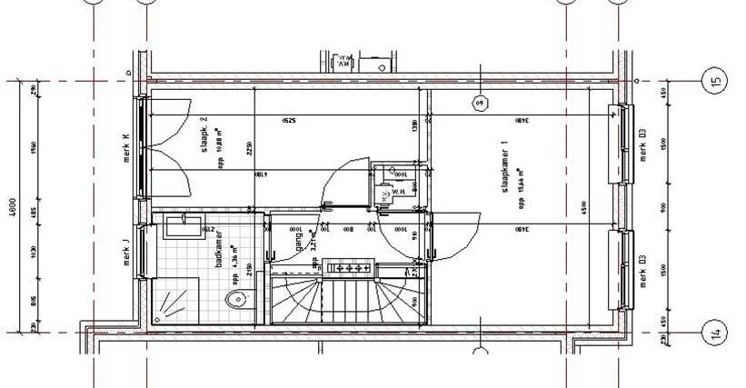 eerste verdieping starterswoning beuk 4,8m - CPO Starterwsoningen Weideveld Bodegraven