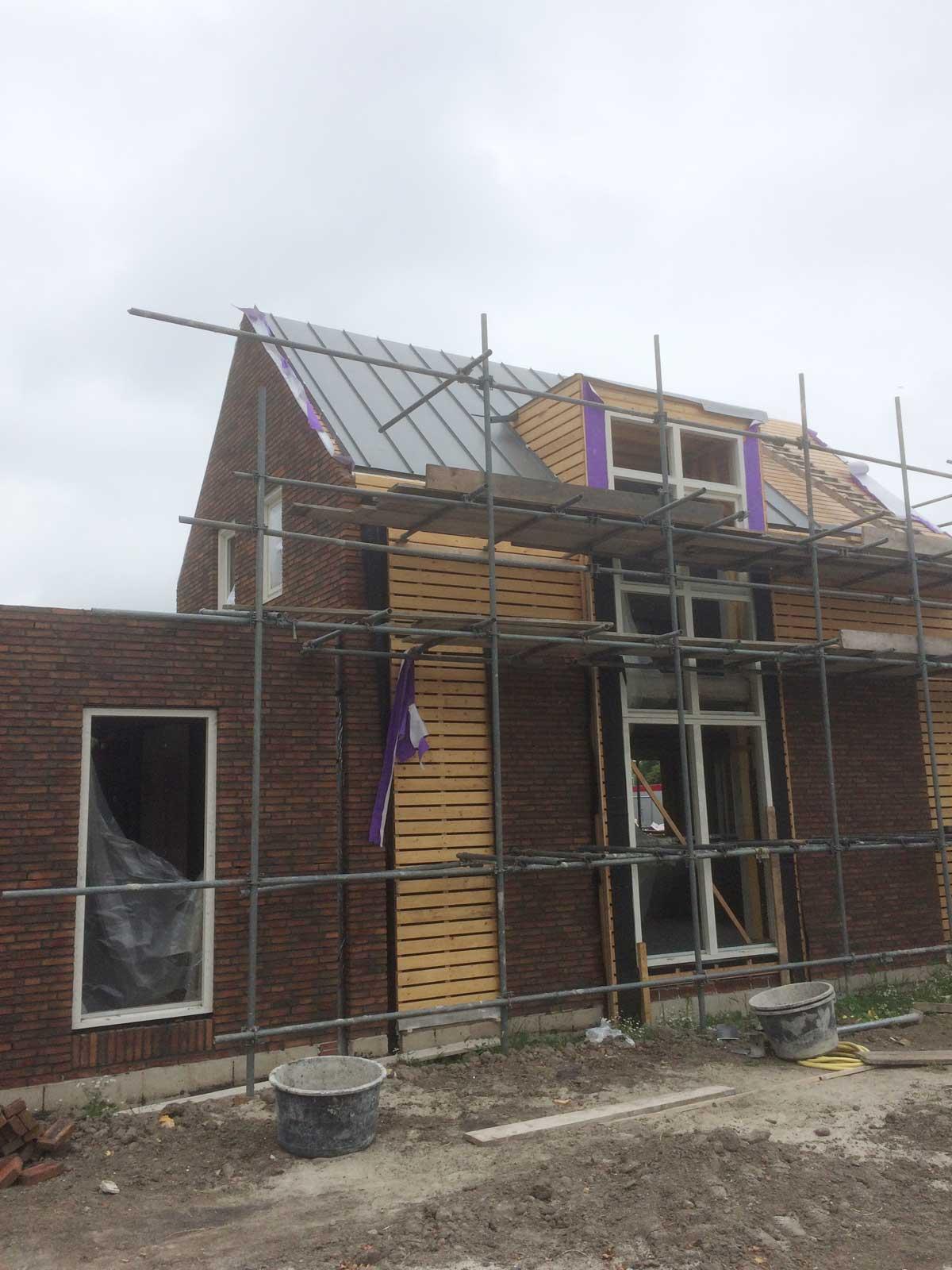 bouwupdate - CPO patiowoningen Sleenstraat Brielle