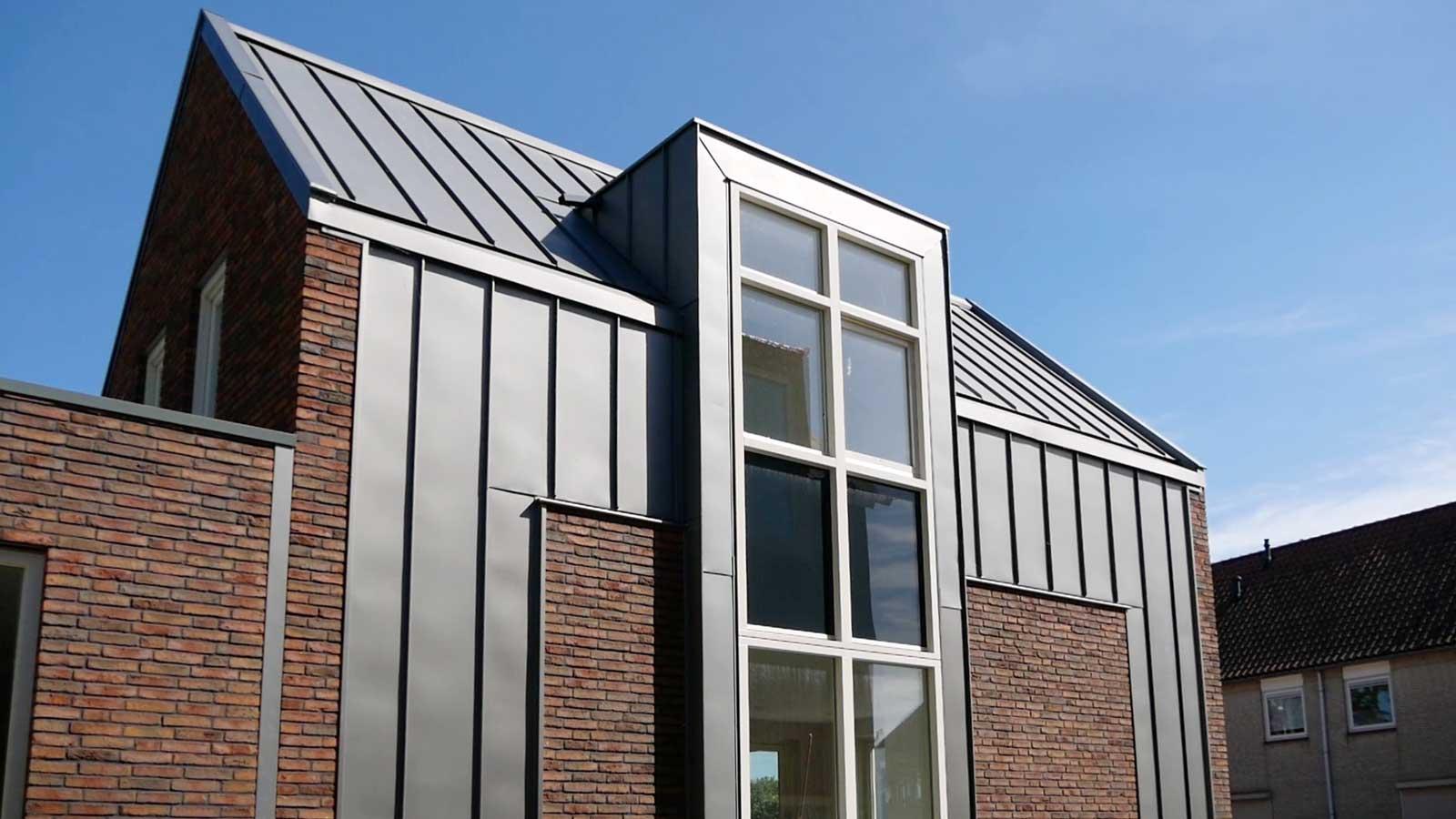 erker zijgevel - CPO patiowoningen Sleenstraat Brielle