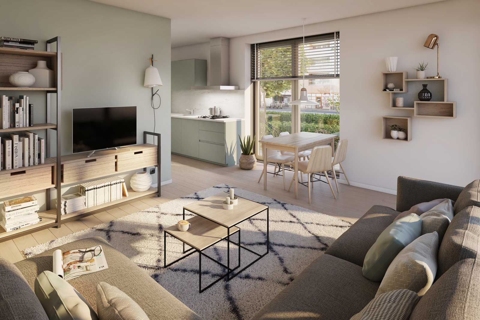 Appartementencomplex Welgelegen Blok G Utrecht - impressie interieur