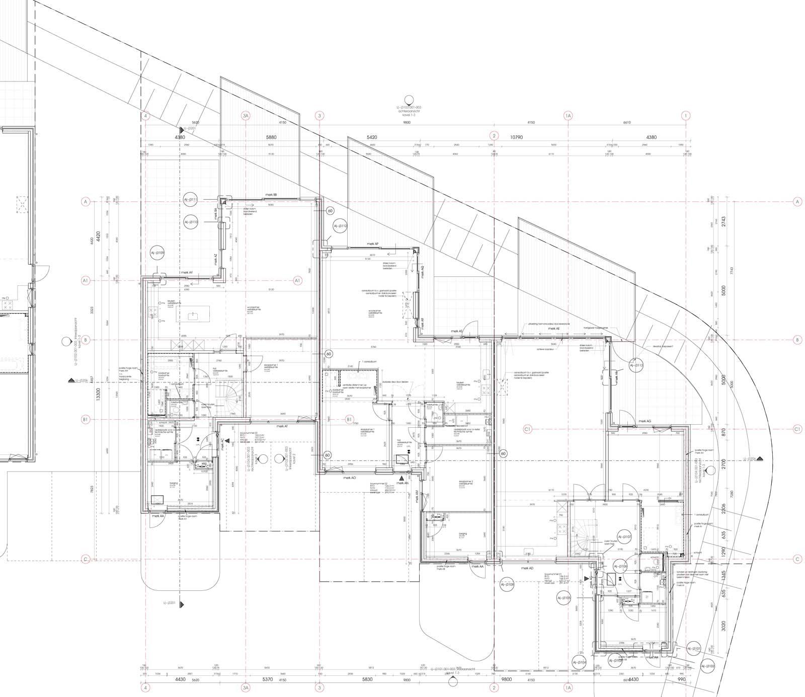 Teylingerhof Bleiswijk CPO Patiowoningen - Begane grond bouwnummer 1 t/m 3