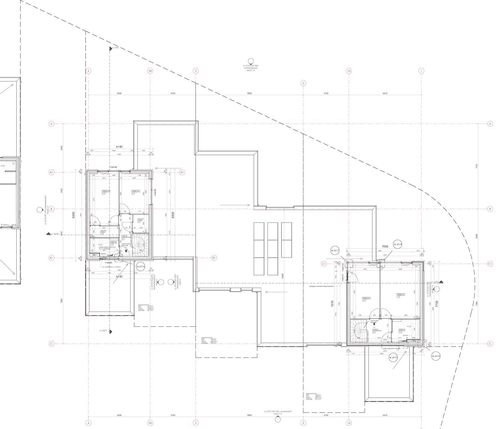 Teylingerhof Bleiswijk CPO Patiowoningen - Eerste verdieping bouwnummer 1 t/m 3