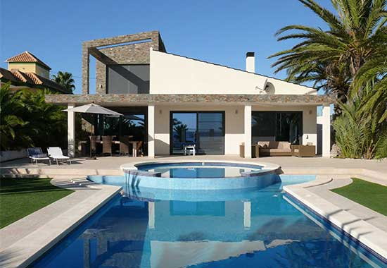 Beachvilla te Spanje