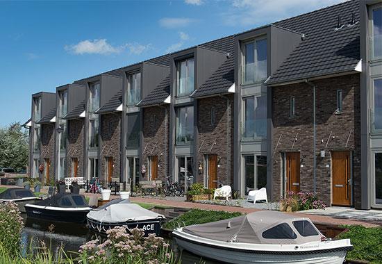 Havenwoningen te Reeuwijk