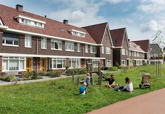 140 woningen De Jonge Veenen Moerkapelle