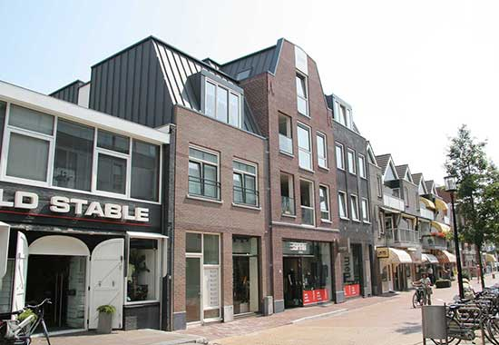 Wooncomplex met winkel Plantsoenstraat Purmerend
