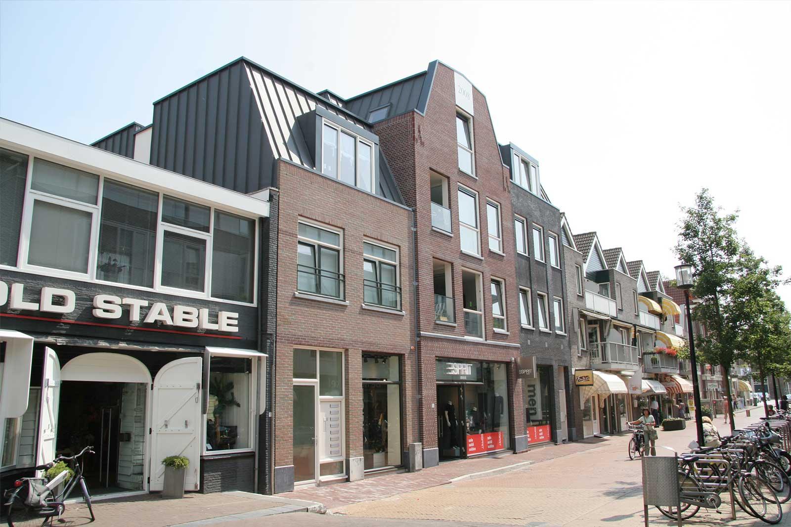 voorgevel - wooncomlex Plantsoenstraat Purmerend