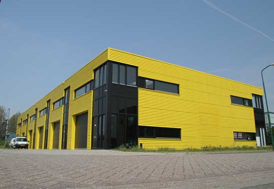 industriegebouw Utrecht