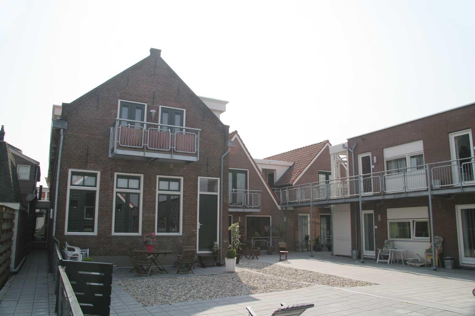 gevels aan binnentuin - Binnenstedelijke herontwikkeling Dubbele Buurt Purmerend