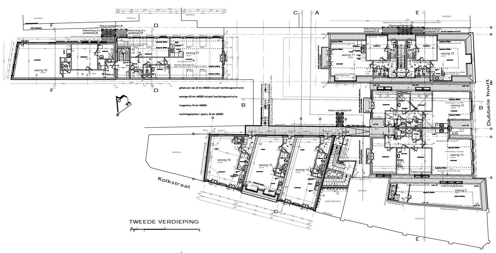 tweede verdieping - Binnenstedelijke herontwikkeling Dubbele Buurt Purmerend
