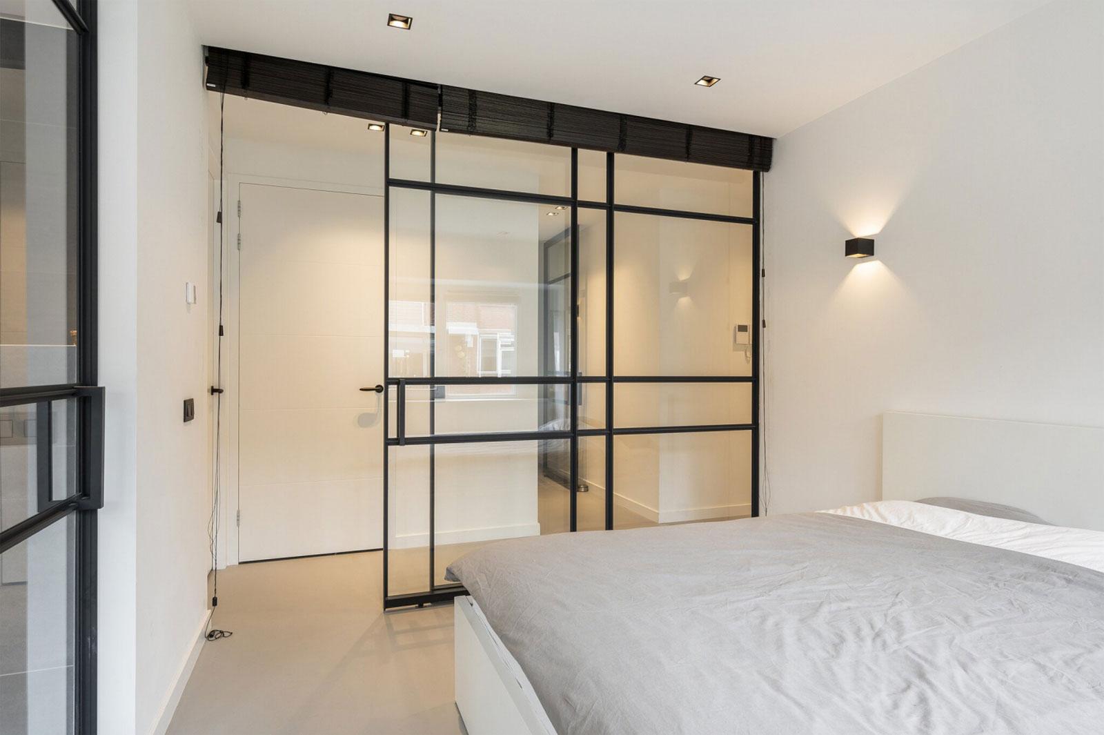 interieur slaapkamer - transformatie kantoor loftwoningen Noordsingel Rotterdam