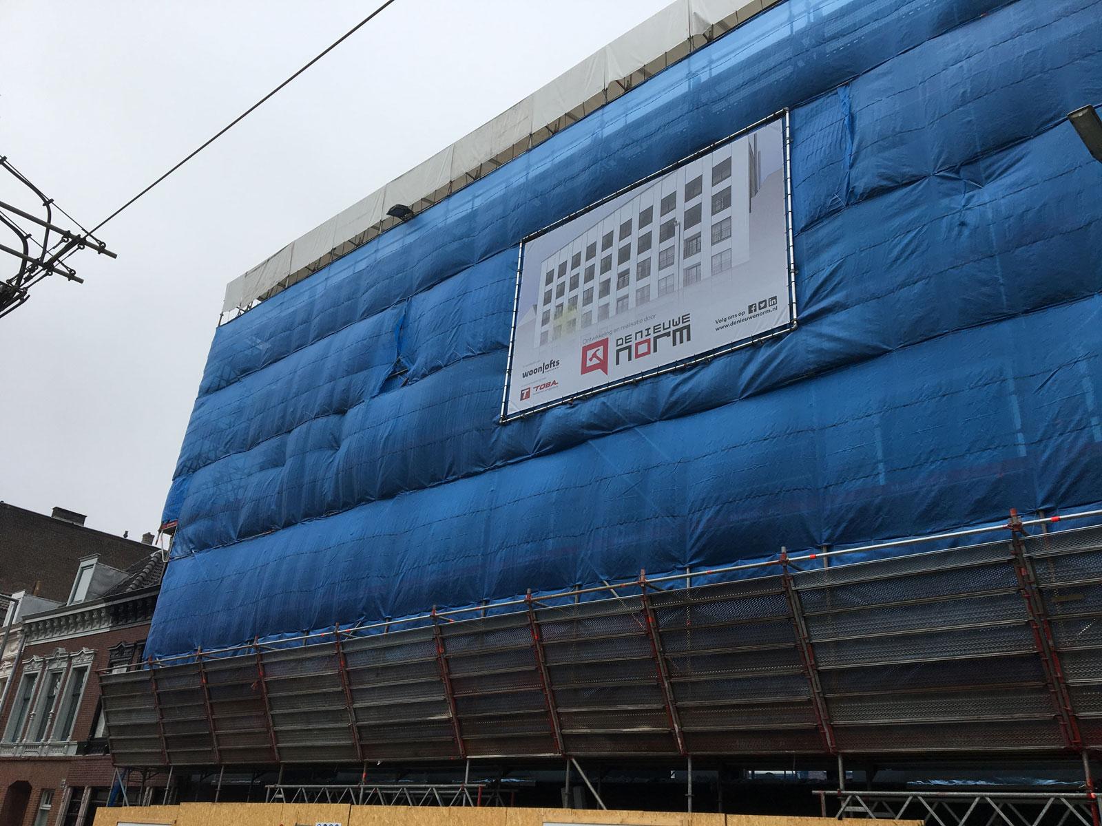 bouwupdate - transformatie kantoor loftwoningen Noordsingel Rotterdam