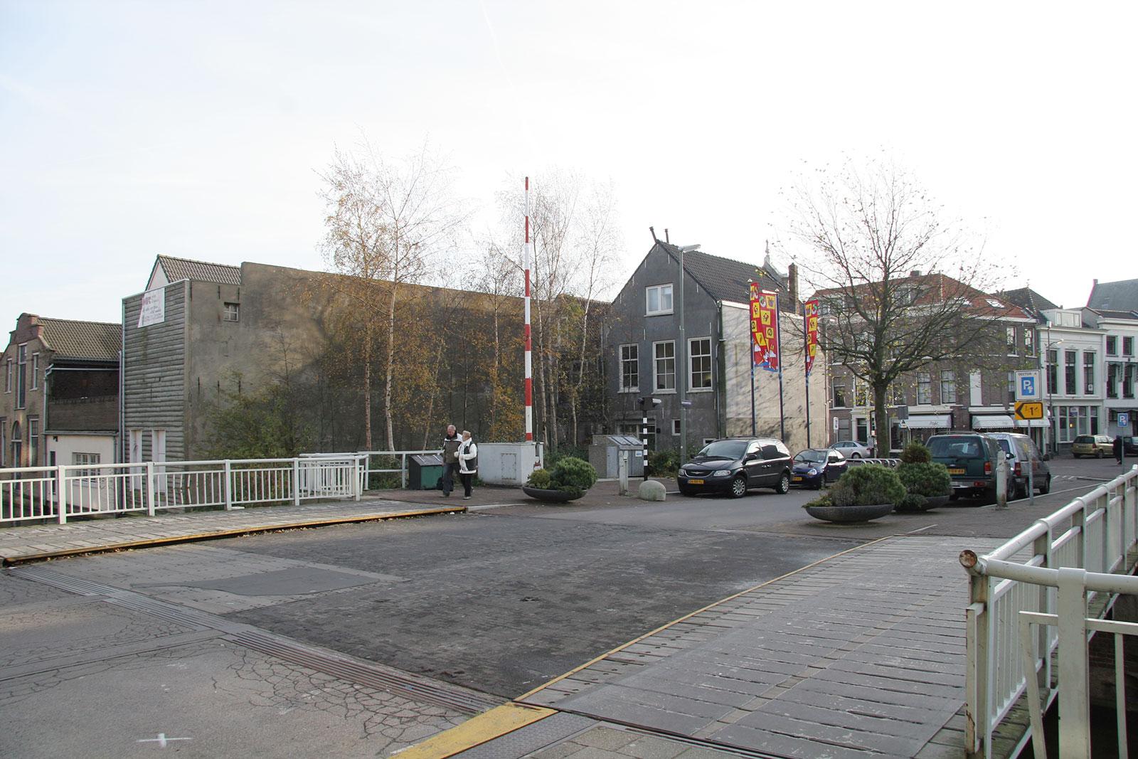 bestaande toestand - woning met praktijkruimte Ooievaarsteeg Schiedam