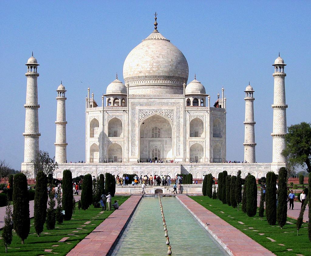 Taj Mahal, Agra, India - foto: Dhirad