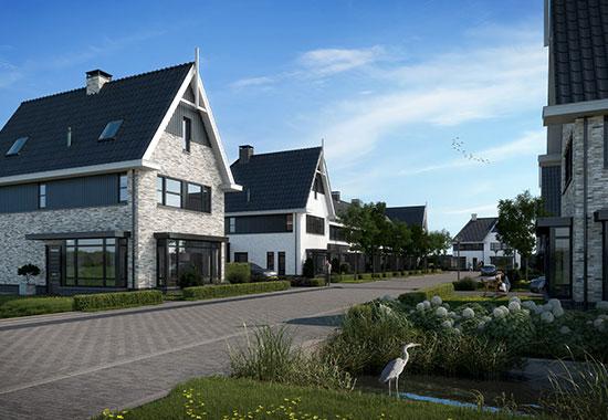 20 woningen in Groen Dorpsveld te Reeuwijk